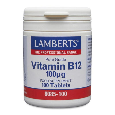 Lamberts, Vitamin B12 100ug, 100 Tablets