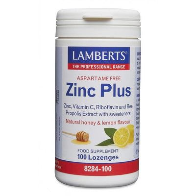 Lamberts Zinc Plus Lozenges - 100L oz