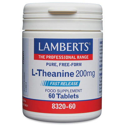 Lamberts L-Theanine 200mg - 60 Tabs