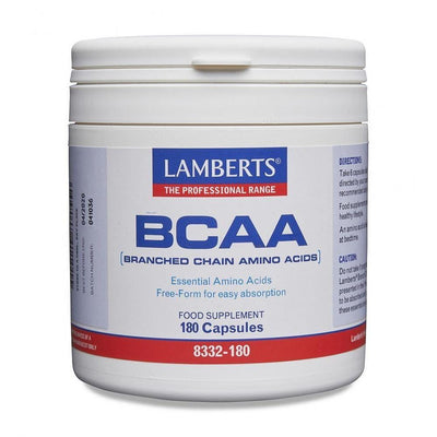 Lamberts BCAA - Branch Chain Amino Acids - 180 Caps