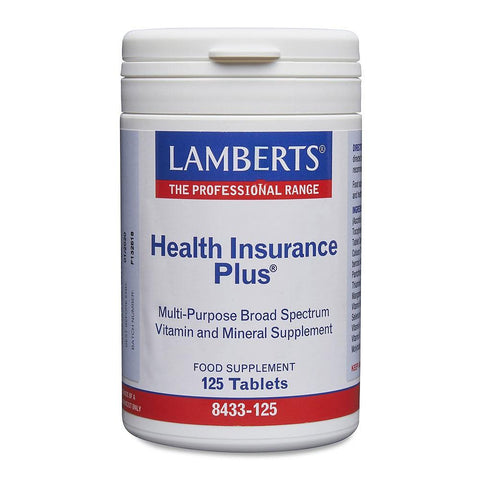 Lamberts Health Insurance Plus - 125 Tabs