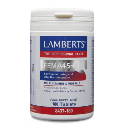 Lamberts FEMa45+ Vitamin & Mineral Supplement for after Menopause