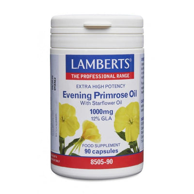 Lamberts Evening Primrose Oil with Starflower Oil 1000mg - 90 Caps