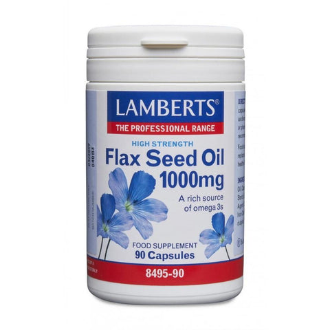 Lamberts Flax Seed Oil 1000mg - 90 Caps