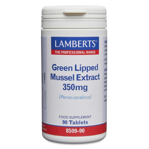 Lamberts Green Lipped Mussel Extract 350mg Tablets - 90 Tabs