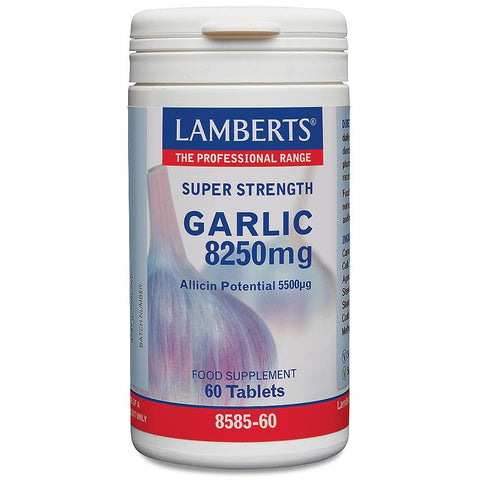 Lamberts High Strength Garlic 1650mg - 90 Tabs