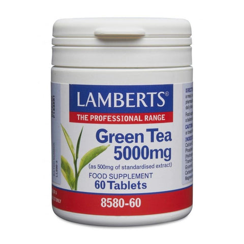 Lamberts Green Tea 5000mg - 60 Tabs