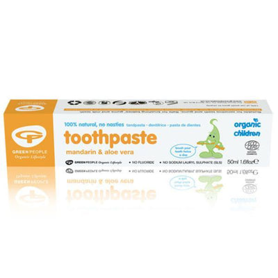 Green People Organic Children Mandarin Toothpaste - 50ml