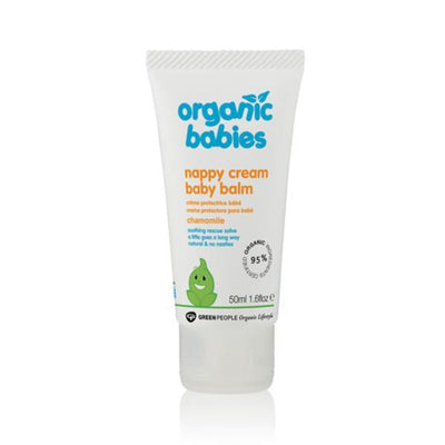Green People Organic Babies Calming Nappy Cream Chamomile 50ml