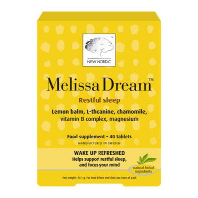 New Nordic Melissa Dream - Pack of 40 Tablets