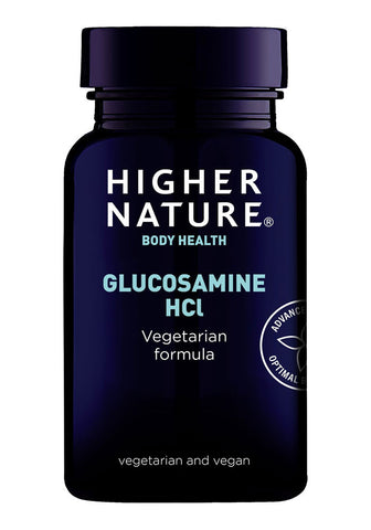 Higher Nature Vegetarian Glucosamine Hydrochloride 800mg - Pack of 90 Tablets