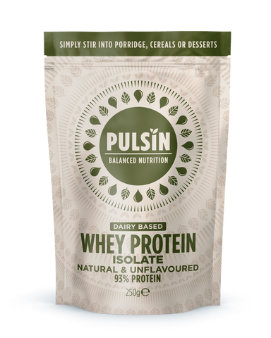 Pulsin Whey Protein Isolate - 100% Natural 1Kg