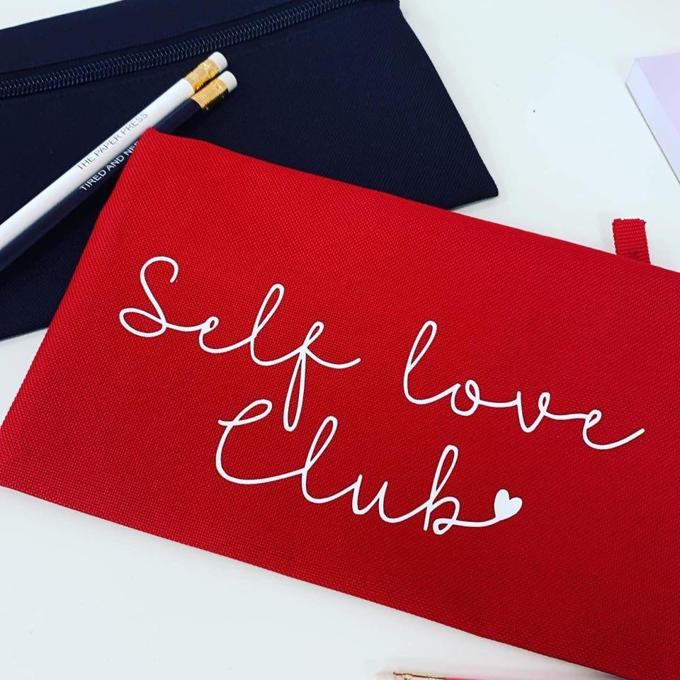 SELF LOVE CLUB PENCIL CASE
