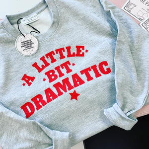 A little bit dramatic sweater - the paper press Ireland