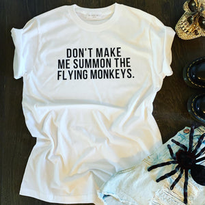 FLYING MONKEYS HALLOWEEN TEE