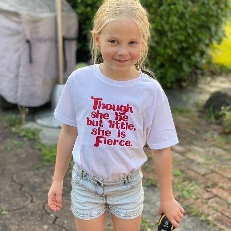 LITTLE BUT FIERCE KIDS TEE