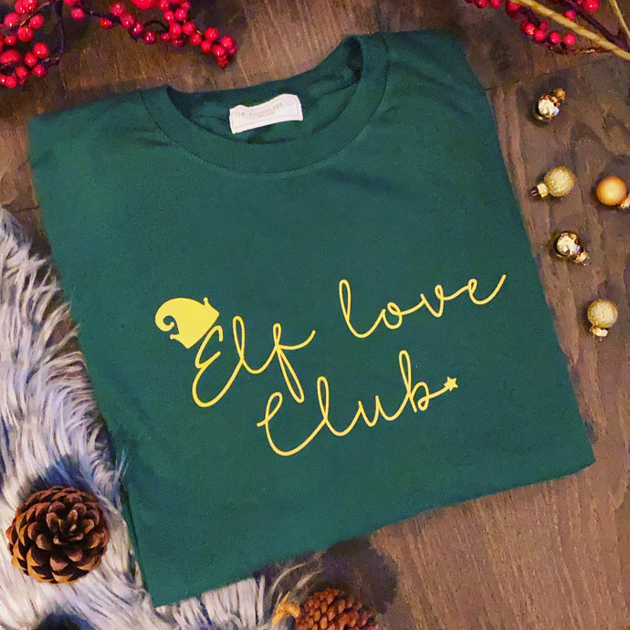 ELF LOVE CHRISTMAS SWEATER