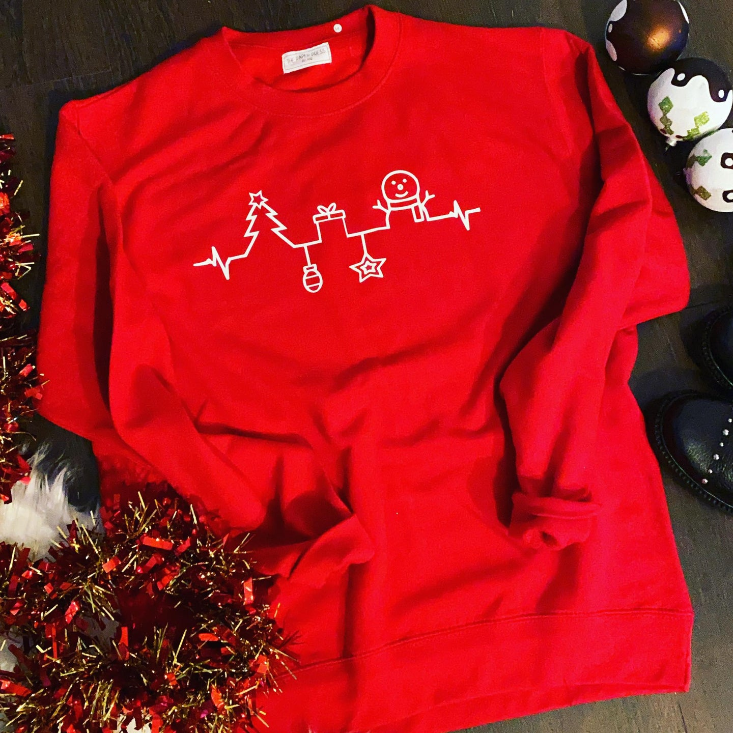 CHRISTMAS SKYLINE SWEATER
