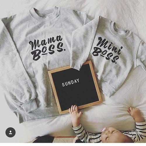 Mama Boss & Mini Boss Twin set
