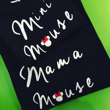Mama Mouse & Mini Mouse Twin set