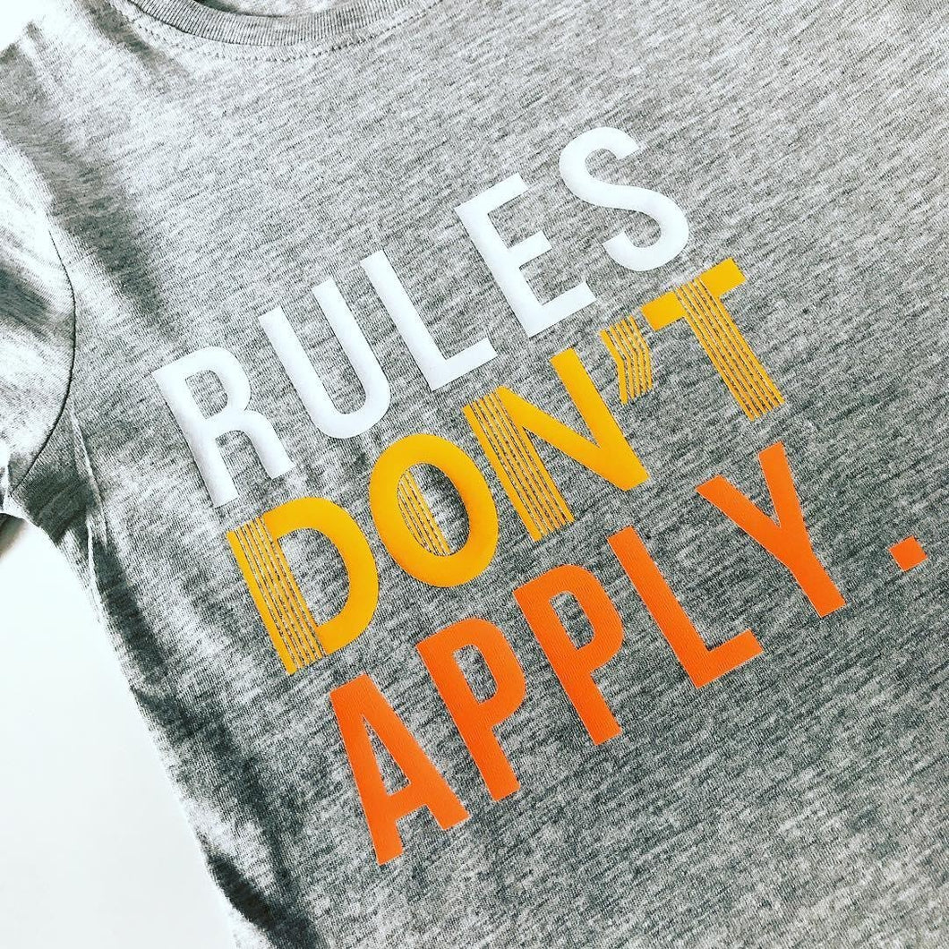 Rules Don't Apply Tee