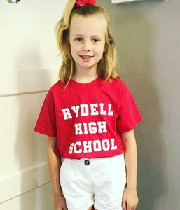 Rydell high school slogan tee Kids Tee