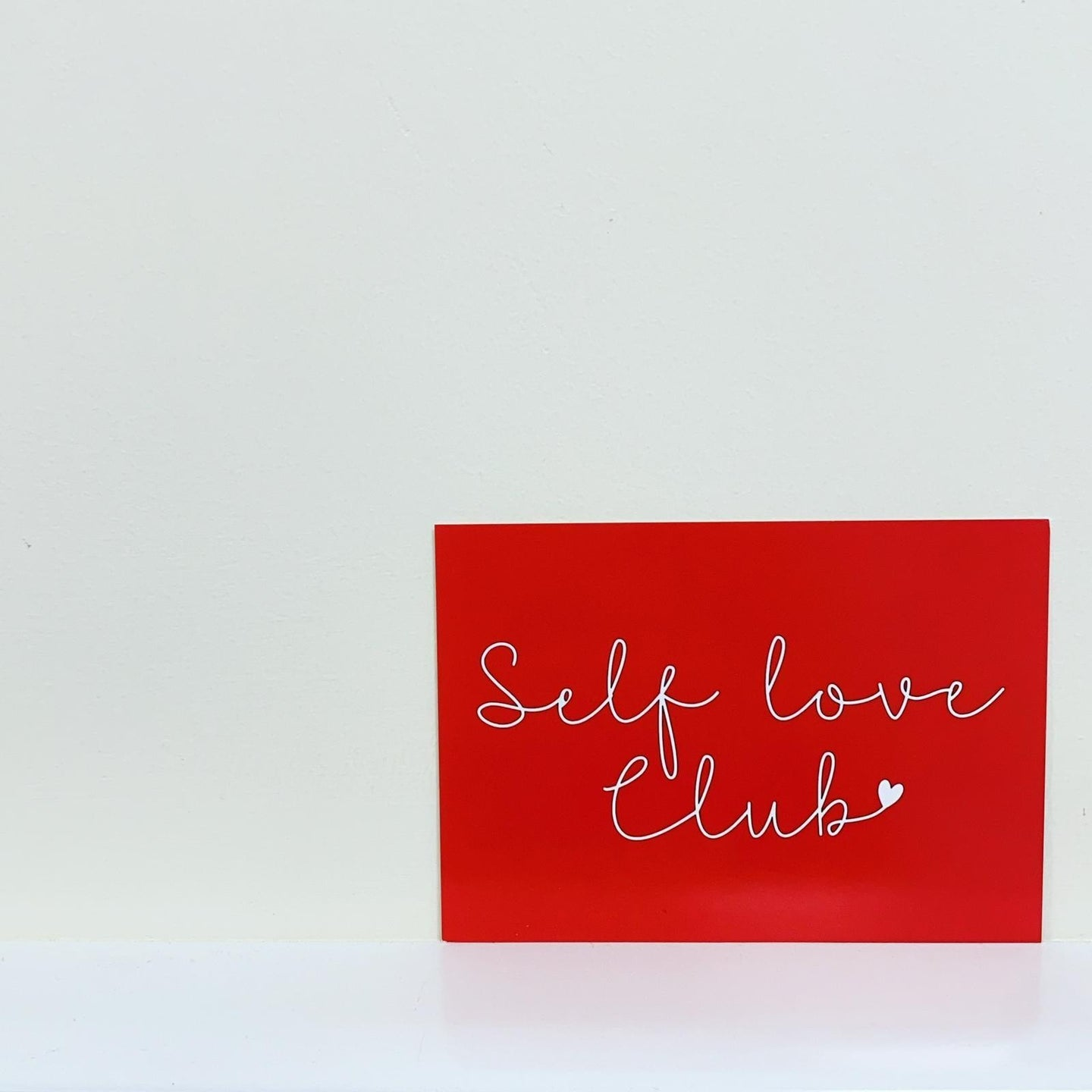 SELF LOVE CLUB A6 POSTCARD