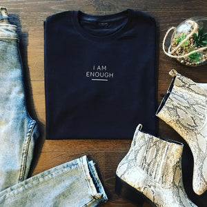 I AM ENOUGH TEE