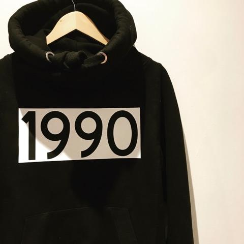 CUSTOM DATE CROSS NECK HOODIE