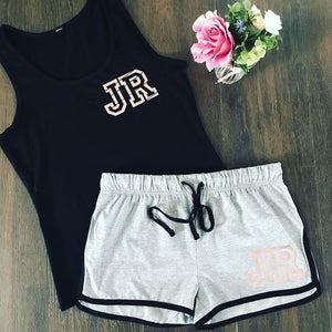 CUSTOM INITIAL SUMMER LOUNGE SET