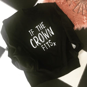 If the Crown fits Sweater