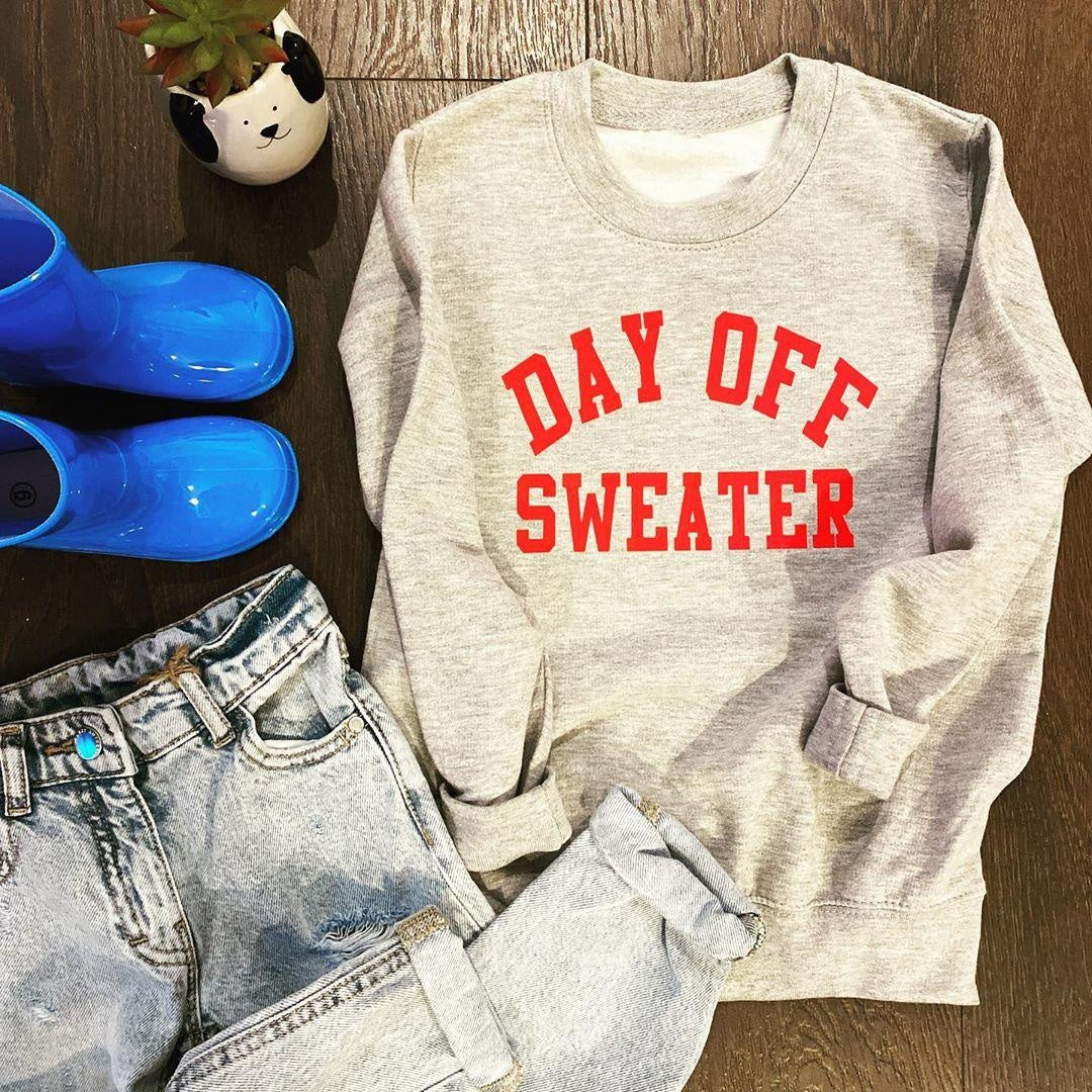 DAY OFF KIDS SWEATER