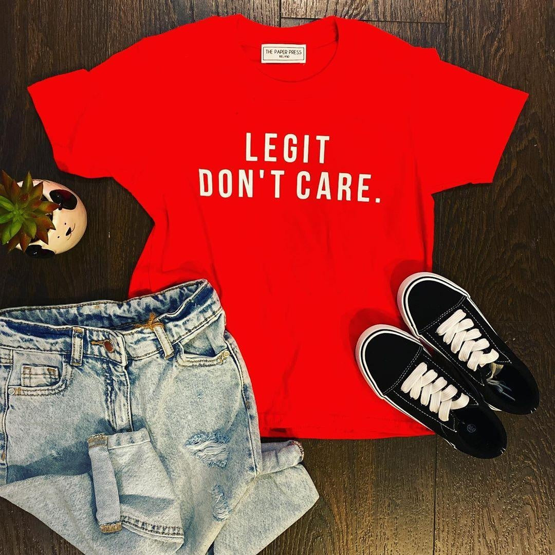 LEGIT DON'T CARE KIDS TEE