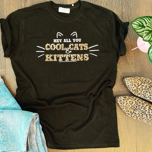 COOL CATS & KITTENS TEE