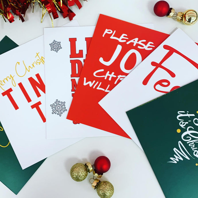 PAPERPRESS CHRISTMAS CARDS - 6 PACK