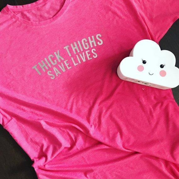 THICK THIGHS SLEEPY TEE