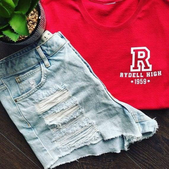 RYDELL HIGH LOGO TEE