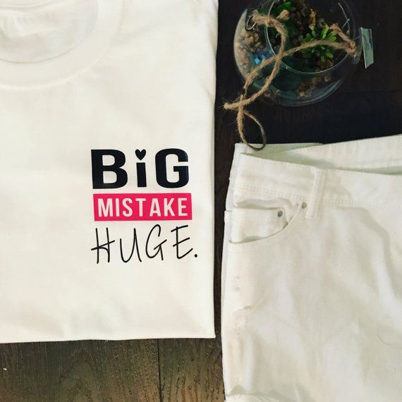BIG MISTAKE HUGE