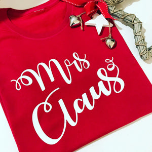 MRS CLAUS TEE