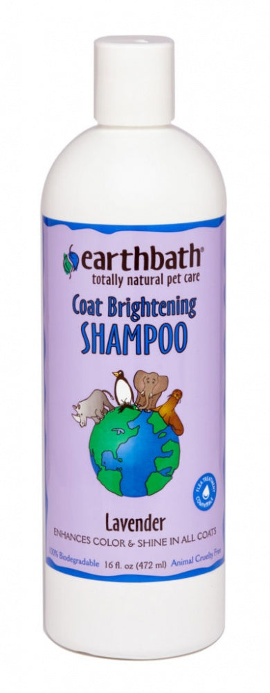 Earthbath Light Color Coat Brightening Shampoo for Dogs and Cats