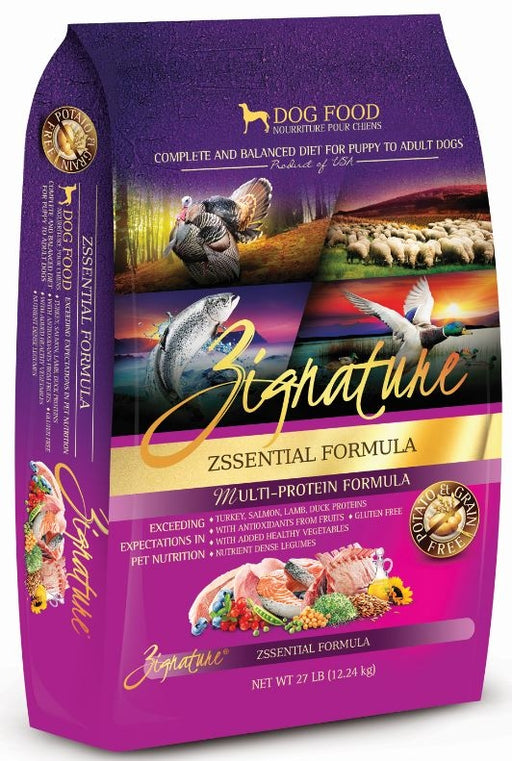 Zignature Grain Free Zssential Multi-Protein Recipe Dry Dog Food