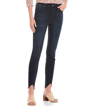 KUT From The KLOTH High Rise Connie Ankle Skinny in Ultra Dark Rinse