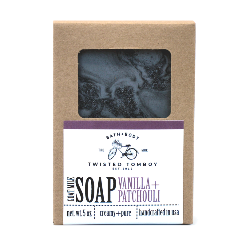 Twisted Tomboy Vanilla+Patchouli Goat Milk Soap