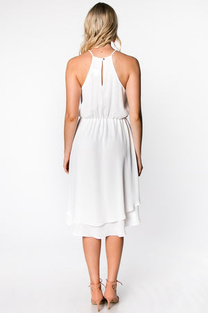 White is Right Dress