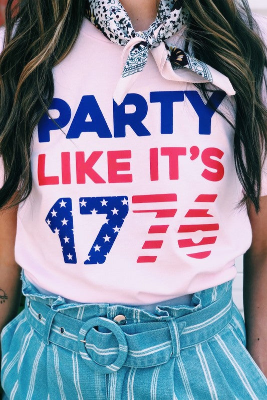 Party Like It's 1776 Tee