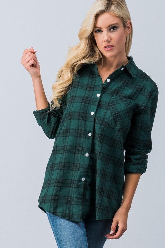 Tree Farm Flannel