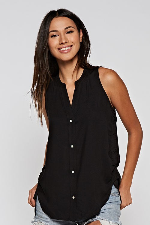 The Ellie Top in Black