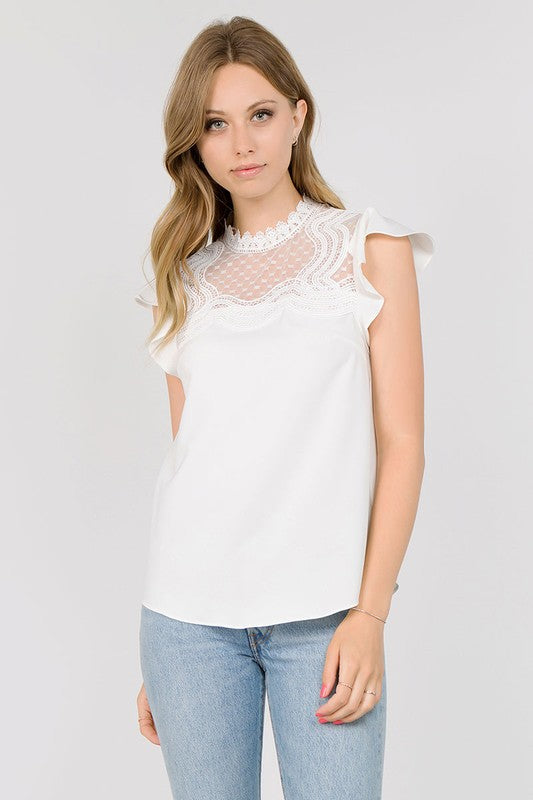 So Much Love Blouse in White