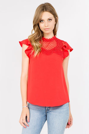 So Much Love Blouse in Red