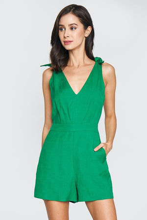 Kelly Tie Shoulder Romper